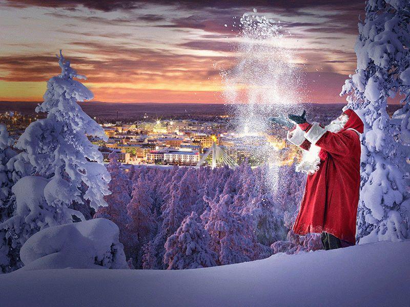 На Новый год в Лапландию